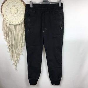 Mossimo supply black joggers ankle pants
